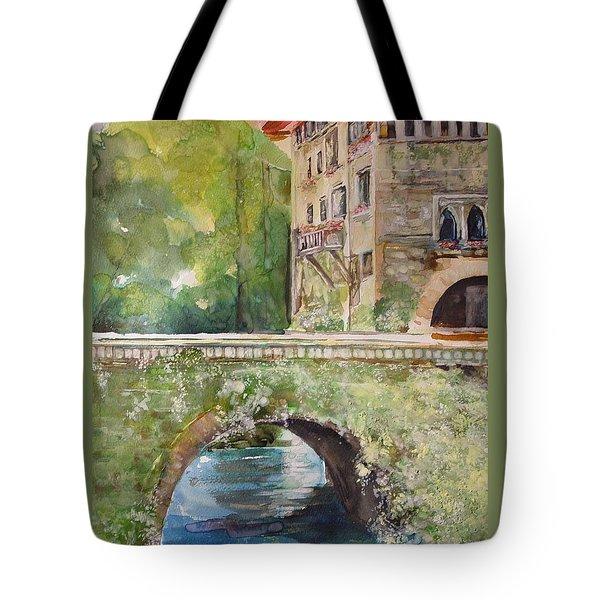 Bridge In Spain Tote Bag