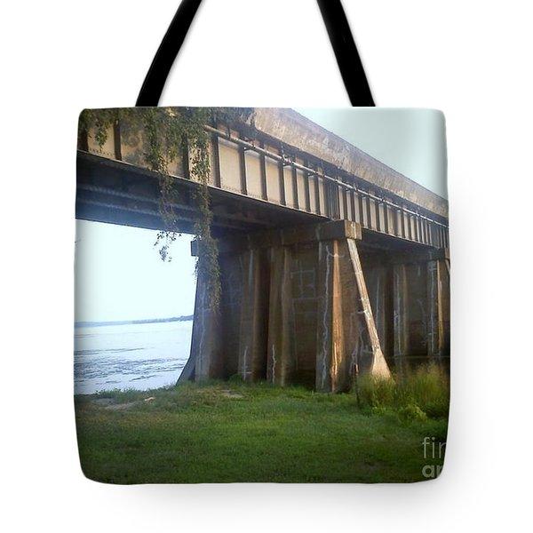 Bridge In Leesylvania Park Va Tote Bag