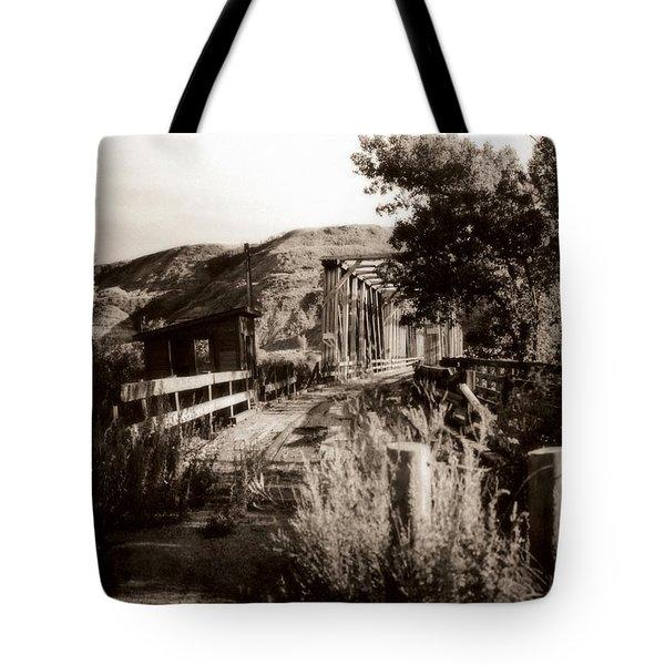 Bridge Tote Bag by Marcin and Dawid Witukiewicz