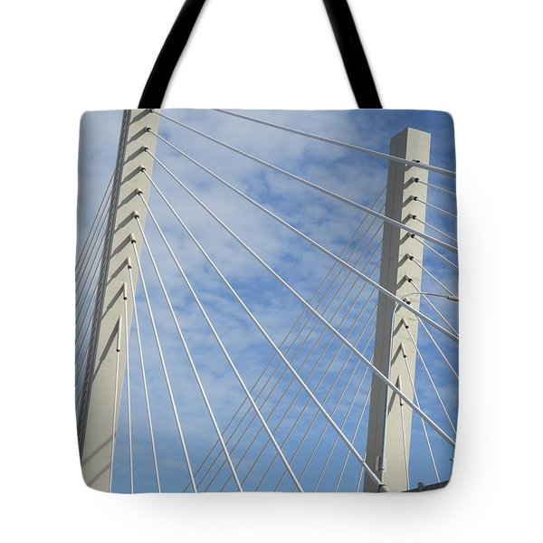 Bridge Tote Bag by Martin Cline