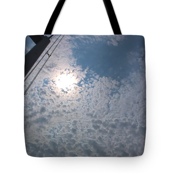 Bridge Meet Sky Tote Bag