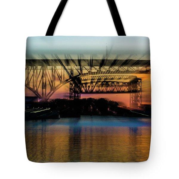 Bridge Motion Tote Bag