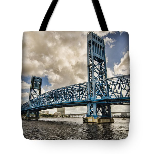 Bridge Of Blues Tote Bag