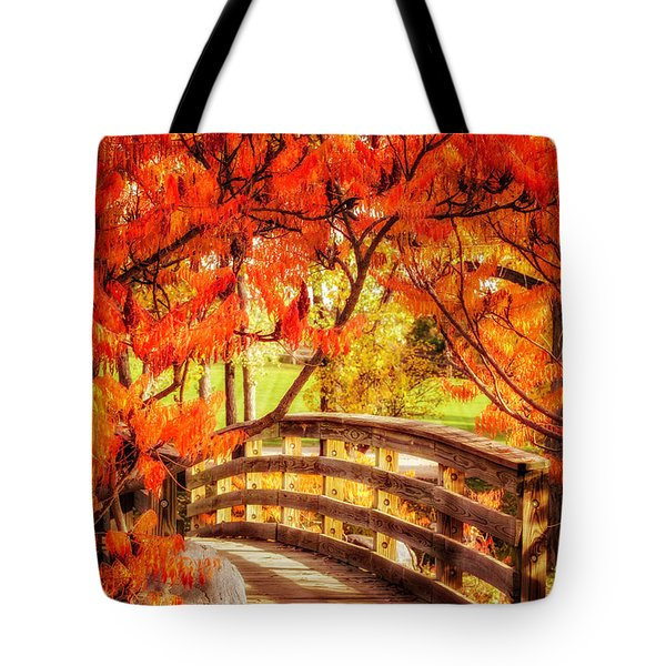 Bridge Of Fall Tote Bag