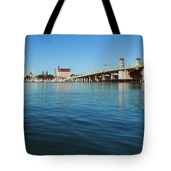 Bridge Of Lions, St. Augustine Tote Bag