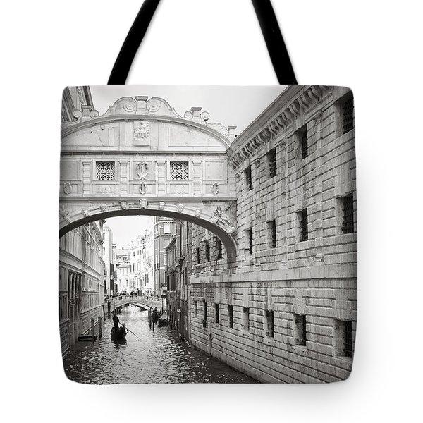 Bridge Of Sighs 5346-2 Tote Bag