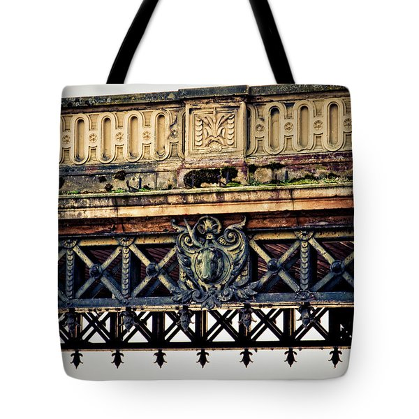 Bridge Ornaments In Germany Tote Bag