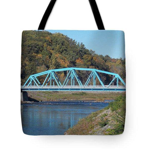Bridge Over Rondout Creek 2 Tote Bag