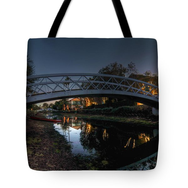 Bridge Over Shadows Tote Bag