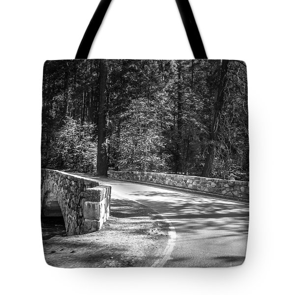 Tote Bag featuring the photograph Bridge Over The Merced by Ryan Photography