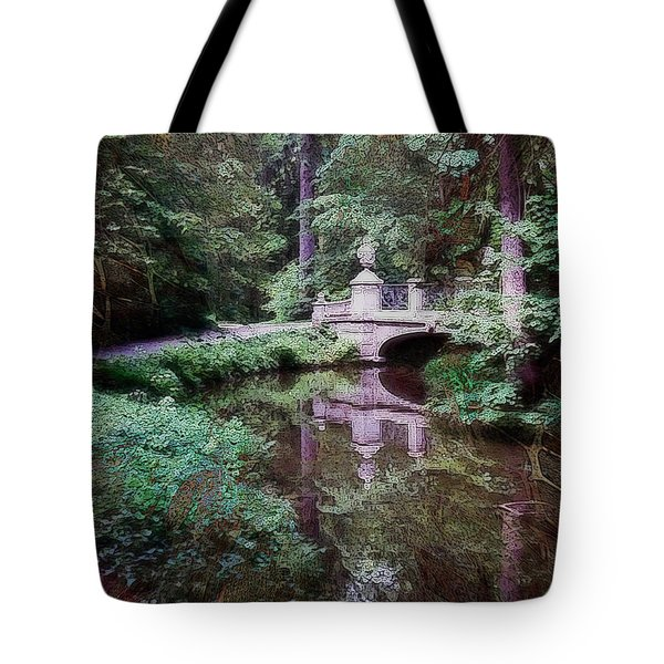 Bridge Over Tomorrow Tote Bag