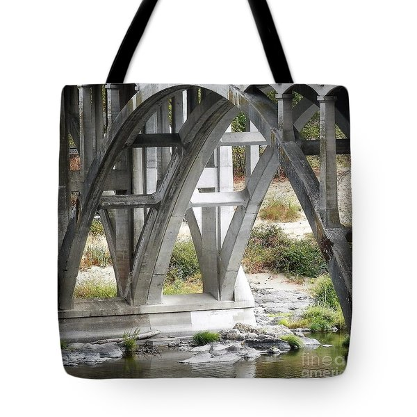 Bridge Over Umpqua Tote Bag