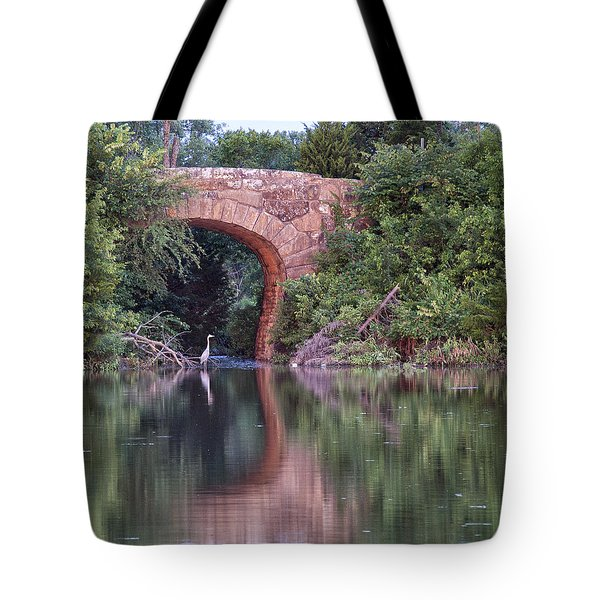 Bridge Reflections Tote Bag