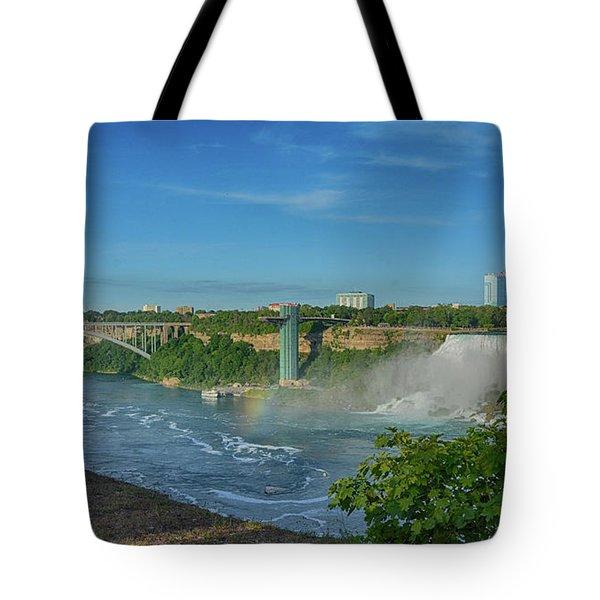 Bridge To America Tote Bag