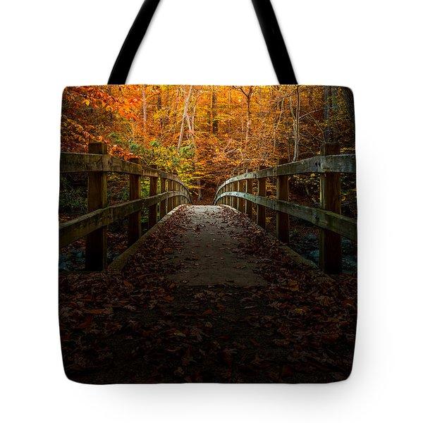 Bridge To Enlightenment Tote Bag