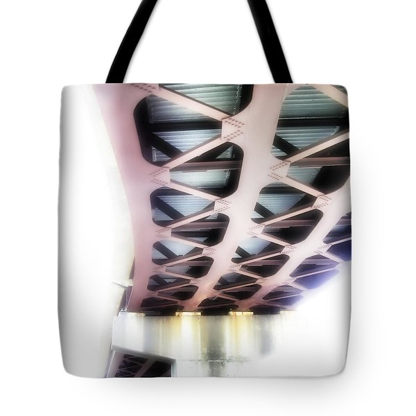 Tote Bag featuring the photograph Bridge To Eternity by Brian Wallace