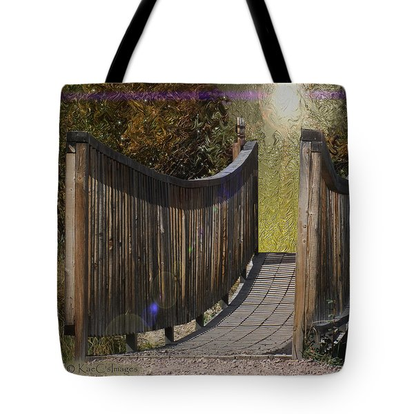 Bridge To Forever Tote Bag
