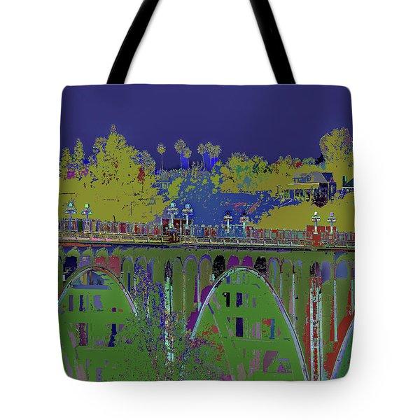 Bridge To Life Tote Bag