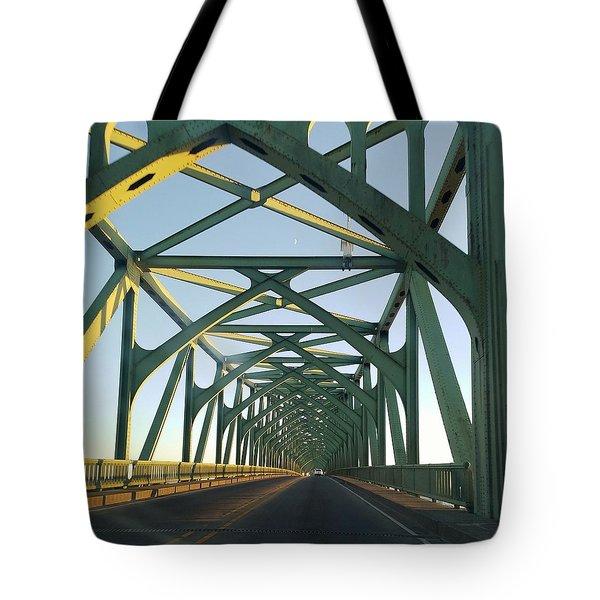 Bridge To Oregom Tote Bag