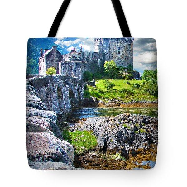 Bridge To The Castle Tote Bag