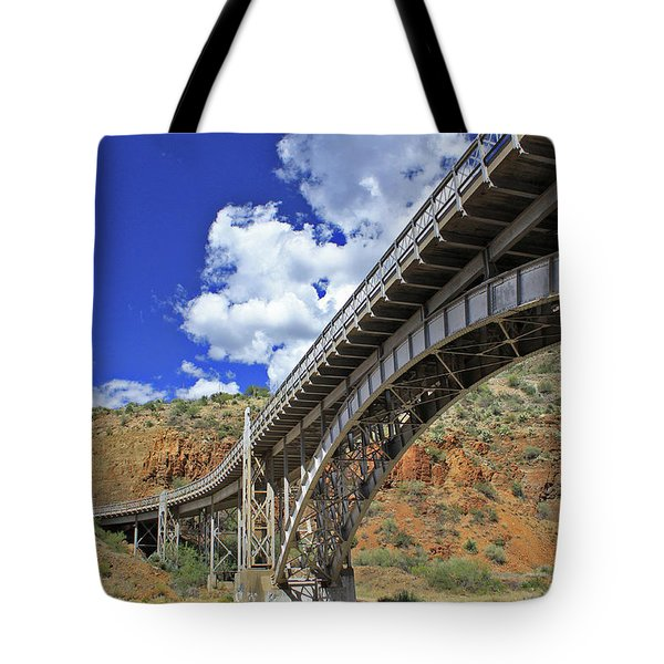 Bridge To Yesteryear Tote Bag
