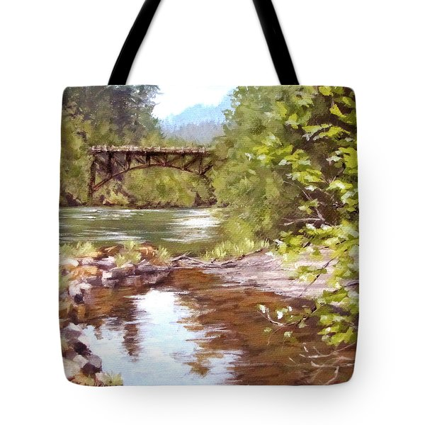 Bridge View Tote Bag