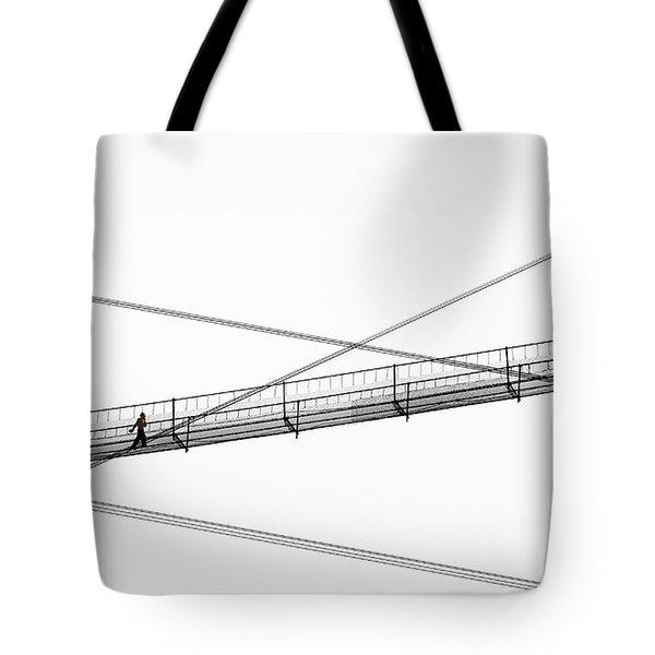 Bridge Walker Tote Bag