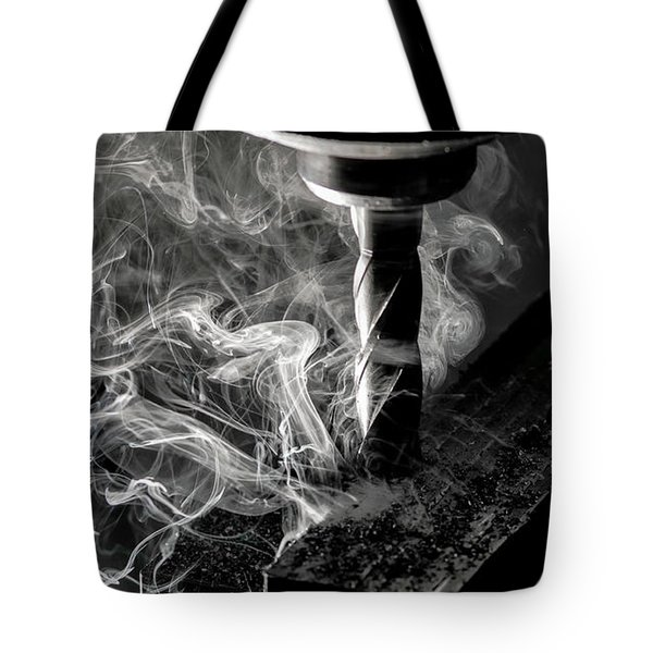 End Mill Tote Bag