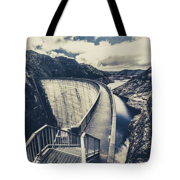 Bridges And Outback Dams Tote Bag