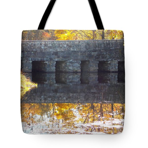 Bridges Reflection Tote Bag
