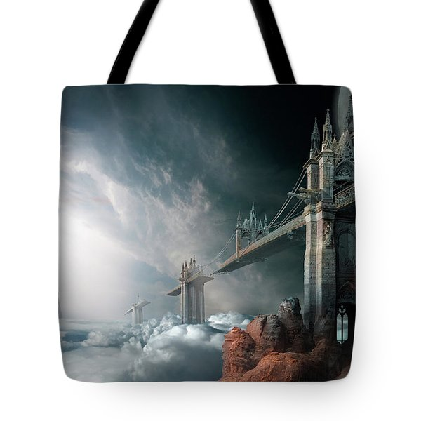 Bridges To The Neverland Tote Bag