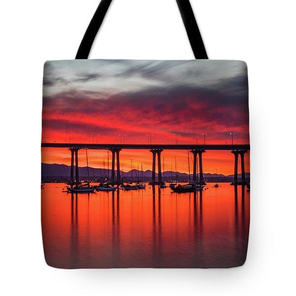 Bridgescape Tote Bag