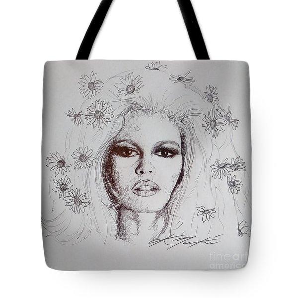 Bridget Bardot Tote Bag