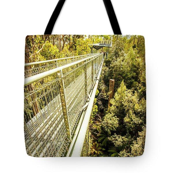 Bridging Forests  Tote Bag