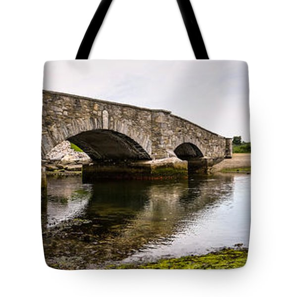 Bridging Time Tote Bag