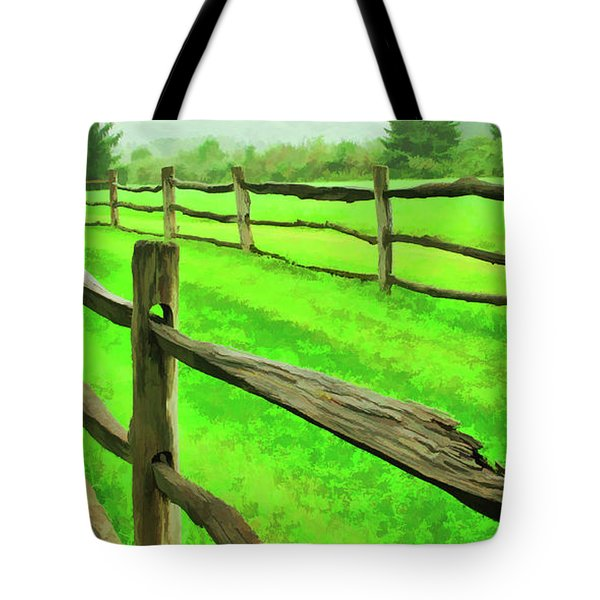 Bridle Trail Tote Bag