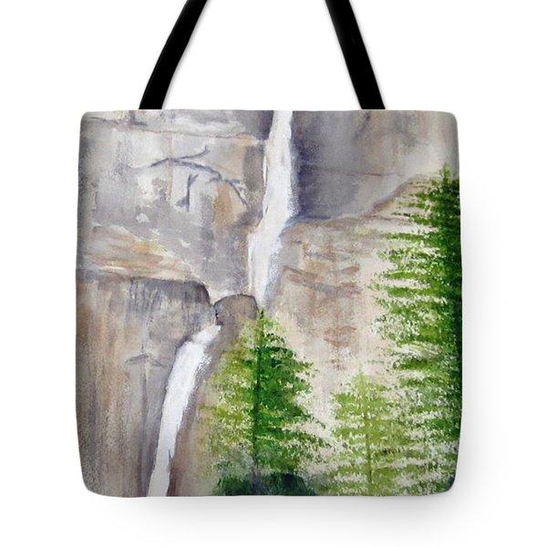 Bridal Veil Waterfall Tote Bag