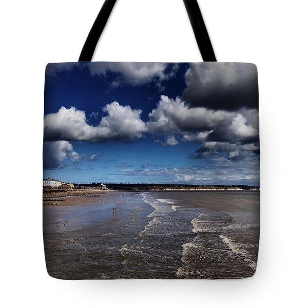 Bridlington Coastline Tote Bag