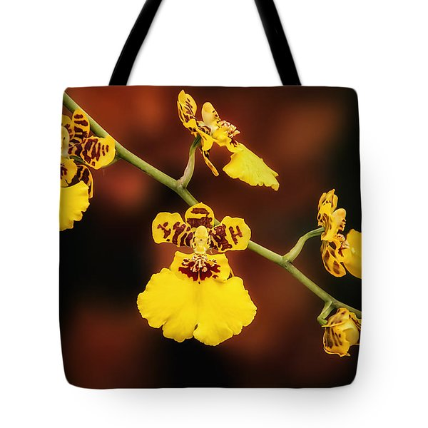 Bright And Beautiful Orchids Tote Bag by Tom Mc Nemar