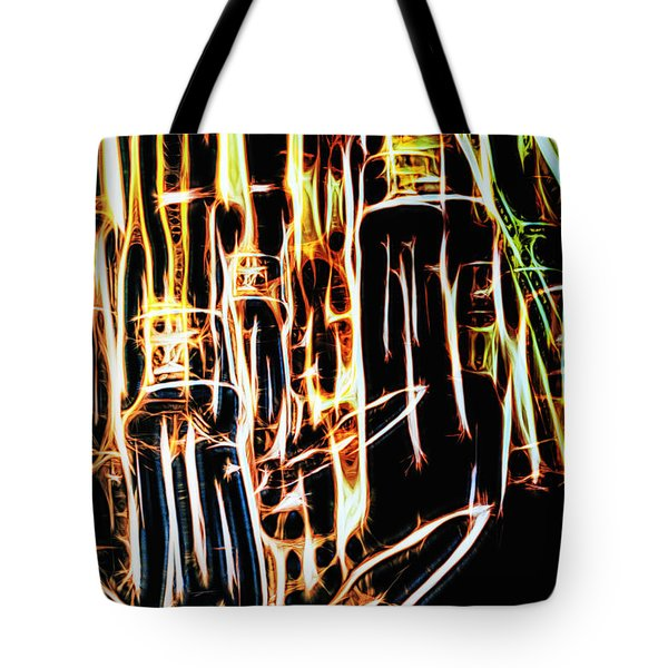 Bright And Strong Tote Bag by Rajiv Chopra