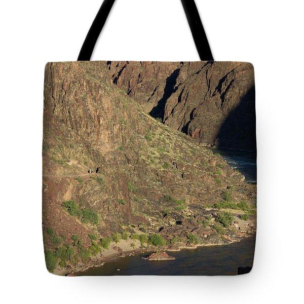 Bright Angel Trail Near The Colorado River Tote Bag