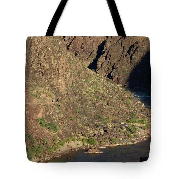 Bright Angel Trail Near The Colorado River Tote Bag
