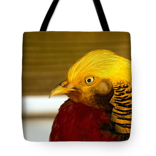 Bright Bird Tote Bag