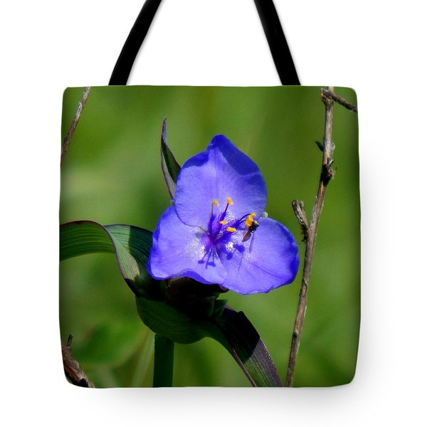Bright Blue Tote Bag