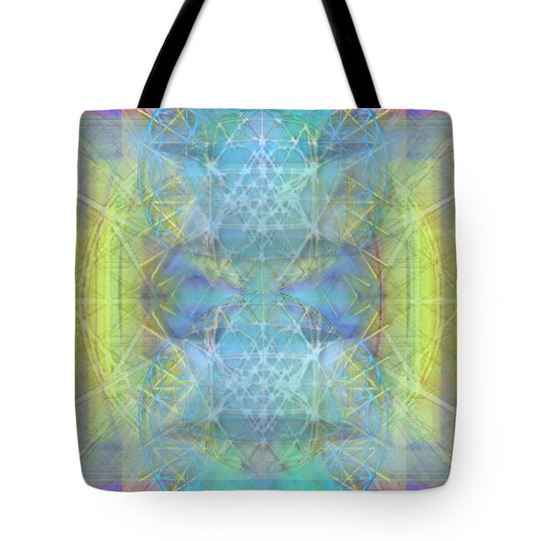 Bright Chalice Ancient Symbol Tapestry Tote Bag