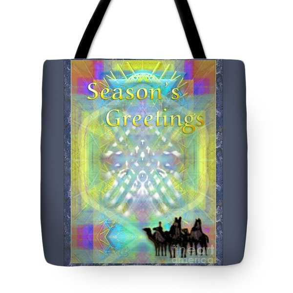 Bright Chalice Tree N 3 Kings Tote Bag