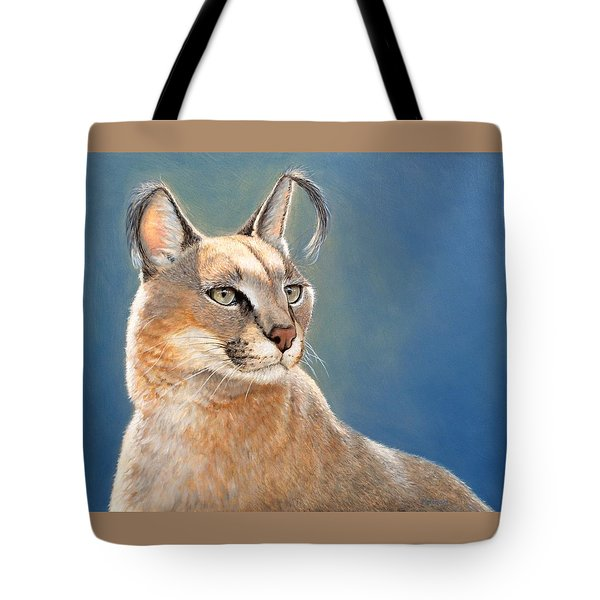 Bright Eyes - Caracal Tote Bag