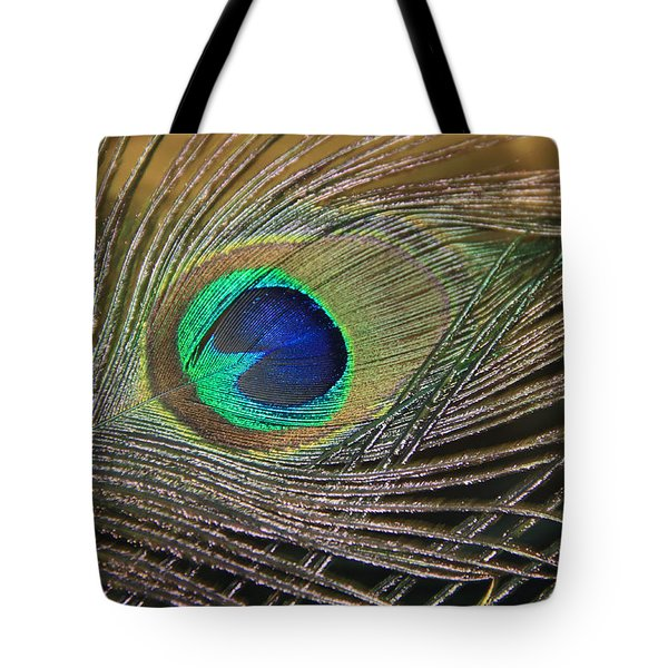 Bright Feather Tote Bag