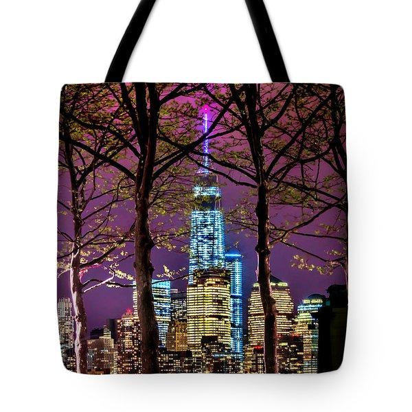 Bright Future Tote Bag by Az Jackson