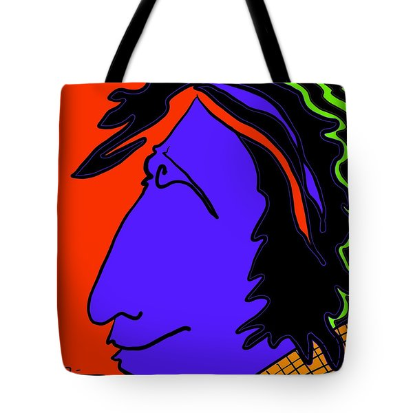 Bright Guy Tote Bag